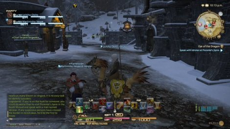 SIR] My First Forty Hours With Final Fantasy XIV  | Cilla vs  Games