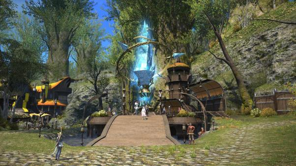 New_Gridania_Aetheryte_Plaza